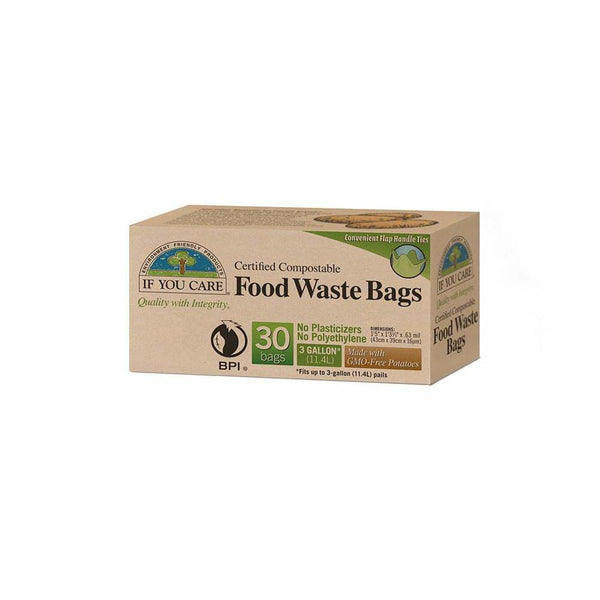 Food Waste Bags 3 Gal * 12 Bags - Kitchen Supply