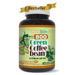 Green Coffee Bean 800mg 45 Veggie Caps