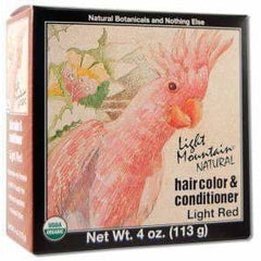 Haircolour and Conditioner Light Red
