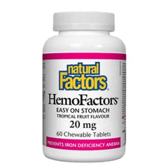 Hemo Factors 20mg 60 Tablets