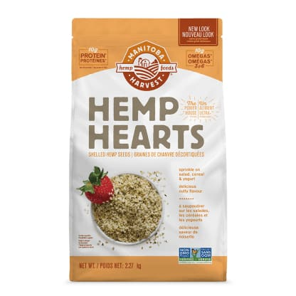 Hemp Hearts Raw Shelled 2.27kg - Hemp