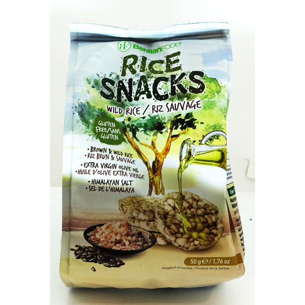 Himalayan Wild Rice Snacks 50g
