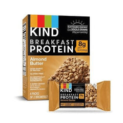 Breakfast Bar Almond Butter 4x50g