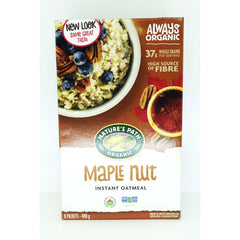 Hot Oatmeal Instant Maple Nut 400g