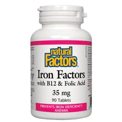 Iron Factors 35mg 90 Tablets