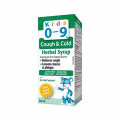 Kids 0-9 Cough and Cold 100mL