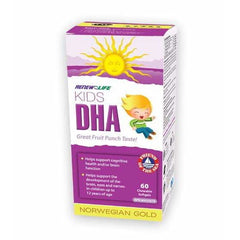 Kids DHA Chewable 60 Soft Gels