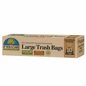 Large Trash Bags 30 Gal * 10 Bags - Kitchen Supply