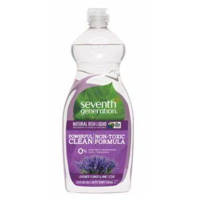 Lavender Floral Mint Dish 739ml - DishSoap