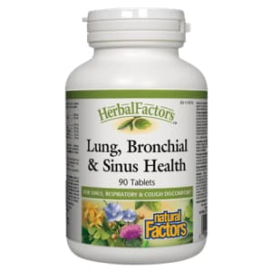Lung Bronchial and Sinus Health 90 Tablets - ImmuneCold