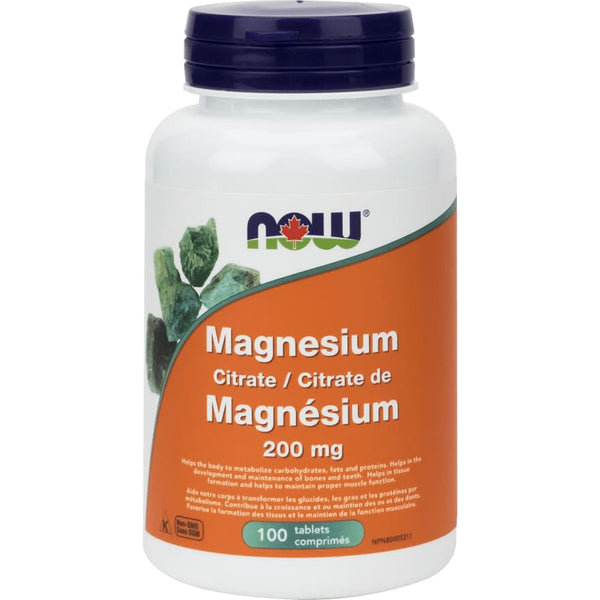 Magnesium Citrate 200mg 250 Tablets - Magnesium