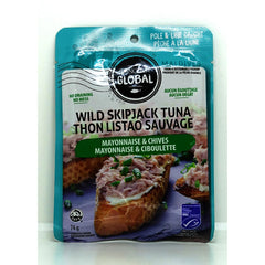 Mayo & Chieves Skip Tuna Pouch 74g