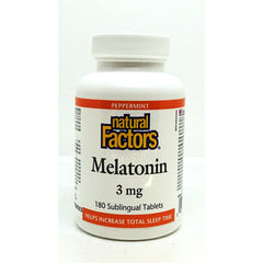Melatonin 3mg Sublingual 180 Tablets
