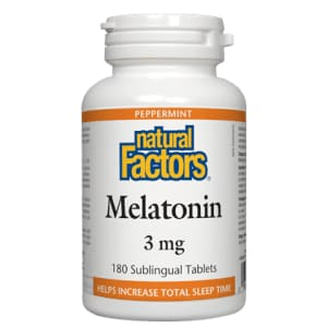 Melatonin 3mg Sublingual 210 Tablets - SleepRelax