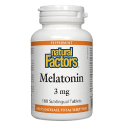 Melatonin 3mg Sublingual 90 Tablets