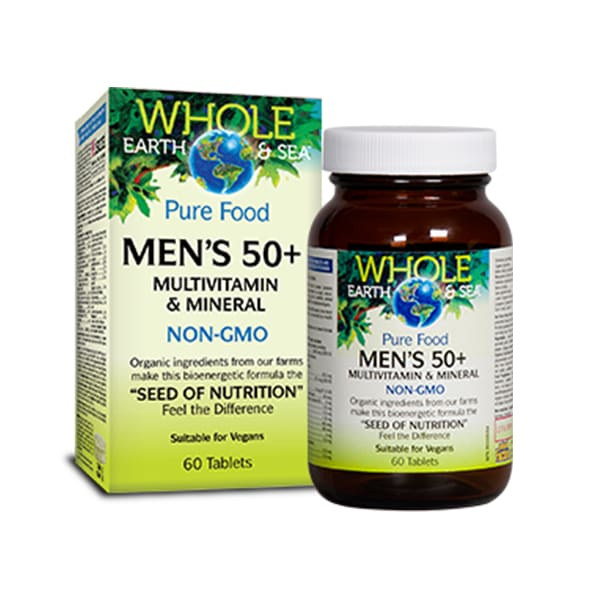 Mens 50+ Multi and Mineral 60 Tablets - MultiVitamin