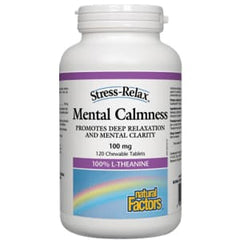 Mental Calmness 100mg 60 Tablets