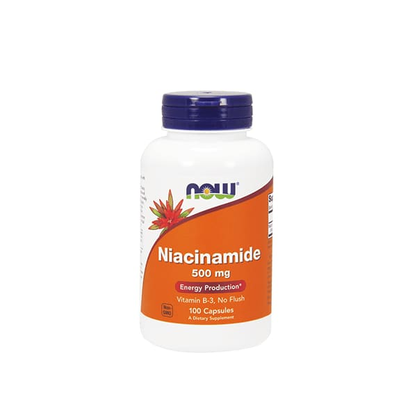 Niacinamaide Vitamin B3 500mg 100 Caps - VitaminB
