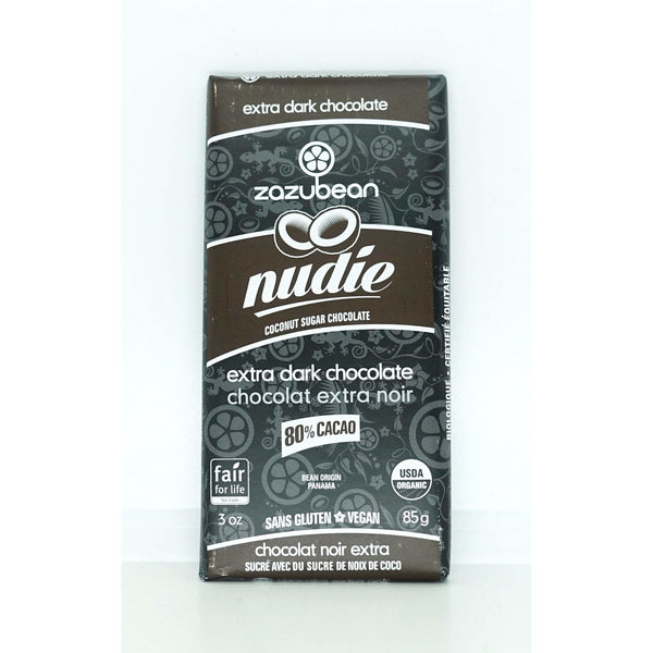 Nudie 80% Extra Dark Chocolate 85g - Chocolate