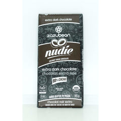 Nudie 80% Extra Dark Chocolate 85g
