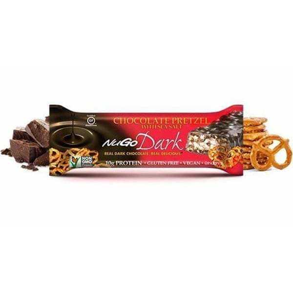 Nugo Dark Chocolate Pretzel Bar 50g - Bars