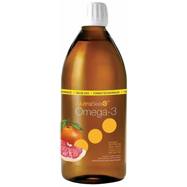 NutraSea +D Grapefruit Tangerine 500mL - Fish Oil