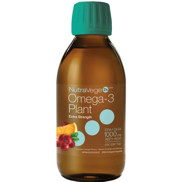 NutraVege 2X 200mL - Plant Oil