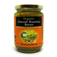 Organic Almond Hazelnut Butter Smooth 365g