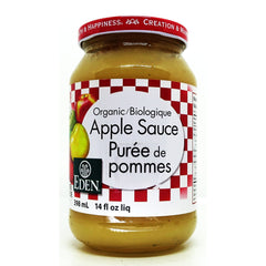 Organic Apple Sauce 398mL