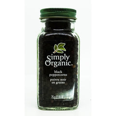Organic Black Whole Peppercorn 75g