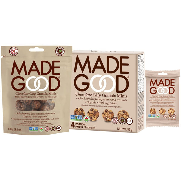 Organic Chocolate Chips Mini 96g - Bars