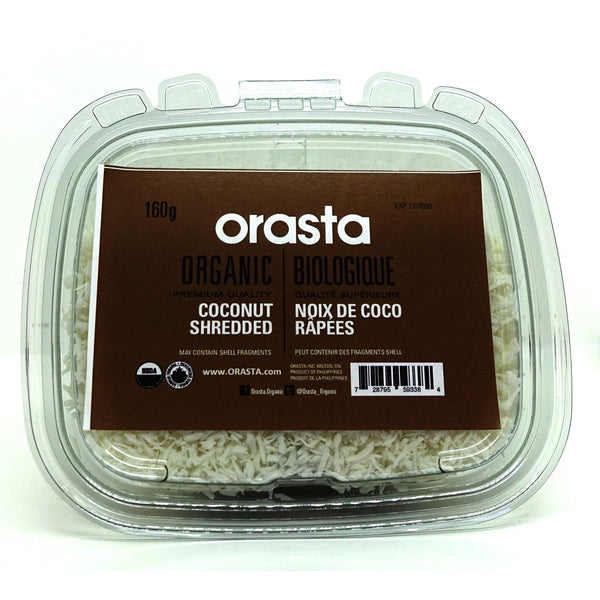 Organic Coconut Shredded 200g