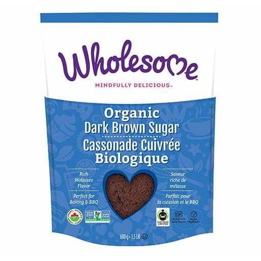 Organic Dark Brown Sugar 680g - Sweetener
