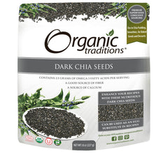 Organic Dark Chia Seeds 227g