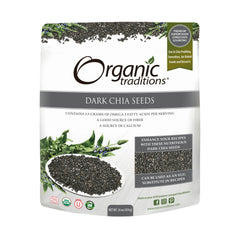 Organic Dark Chia Seeds 454g