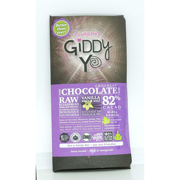 Organic Ecuador Chocolate Salt Vanilla 83% 62g - Chocolate