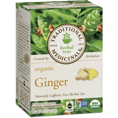 Organic Ginger 20 Bags - Tea