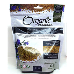 Organic Golden Flax Seeds 454g