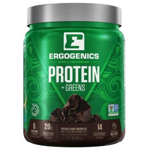 Organic Hemp Green Protein Chocolate 420g - Hemp
