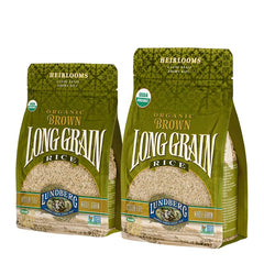 Organic Long Grain Brown Rice 907g
