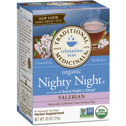 Organic Nighty Night Valerian 20 Tea Bags - Tea