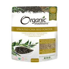 Organic Sprouted Chia Powder 454g