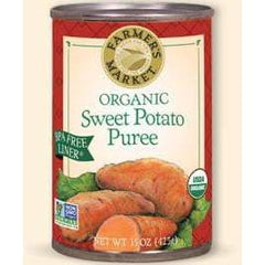 Organic Sweet Potato Puree 398mL