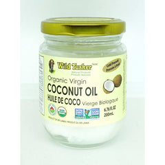 Organic Virgin Coconut Oil 200ml