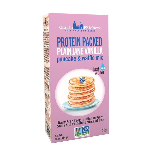 Pancake and Waffle Mix Banana 454g - Baking