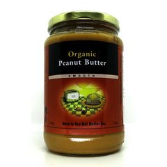 Peanut Butter Smooth Organic 750ml