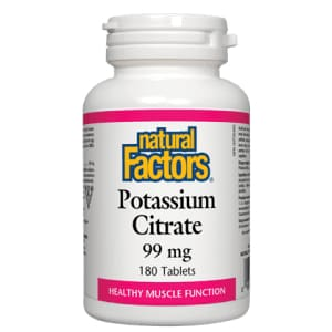 Potassium Citrate 99mg 90 Tablets - Mineral