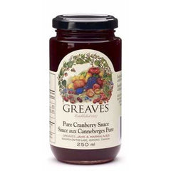 Pure Cranberry Sauce 250mL
