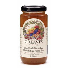 Pure Peach Marmalade 250mL