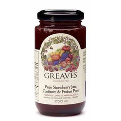 Pure Strawberry Jam 250mL